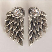 Angel Wings Womens Earrings - MyBodiArt.com