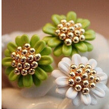 Flower Earrings at MyBodiArt.com