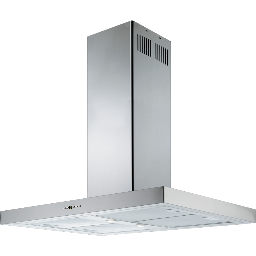 Factory Seconds | Schweigen Silent 90cm Island Rangehood - IS4110SP