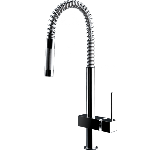 Gessi Quadro Hi-Tech Pull-out Mixer-16765
