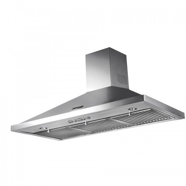 Falcon 90cm Chrome Wallmount Rangehood-RC9-FALHDCP90SC/AUS