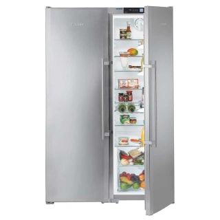 Liebherr Freestanding Side By Side Fridge Freezer-SBSes 7252