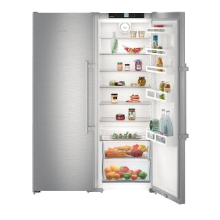 Liebherr Freestanding Side By Side Fridge Freezer-SBSef 7242