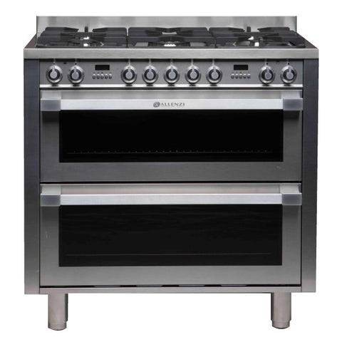 Allenzi 90cm Wide Freestanding Double Oven
