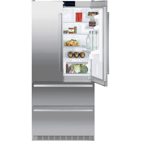 Liebherr  Freestanding French Door Fridge-CBNes 6256