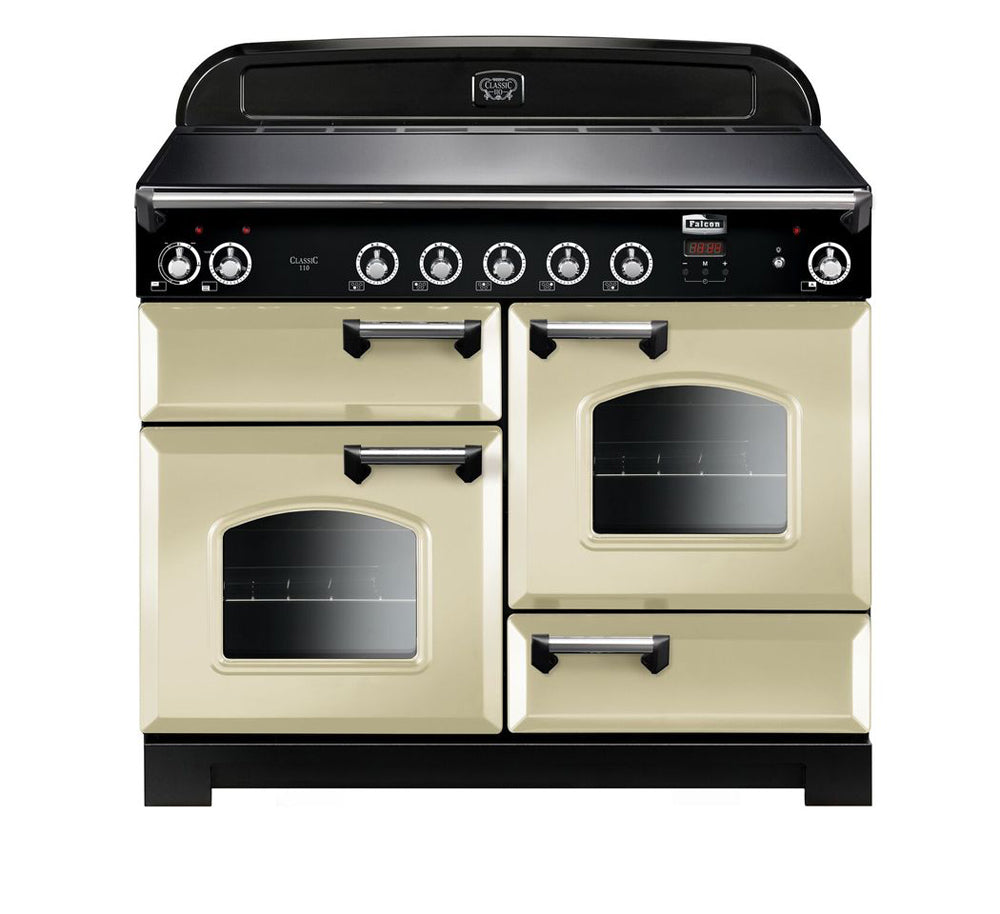 Falcon Classic Cream 110cm Induction Stove-S11-CLA110EI5CR/CH