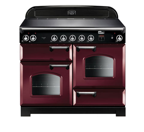 Falcon Classic Cranberry 110cm Induction Stove-S11-CLA110EI5CY/CH