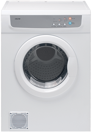 PE7SDWH – 7KG Wall Mountable Sensor Clothes Dryer