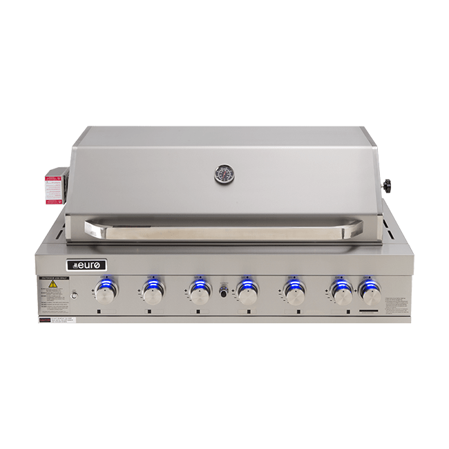 EAL1200RBQ – 6 Burner Built-In BBQ + Hood