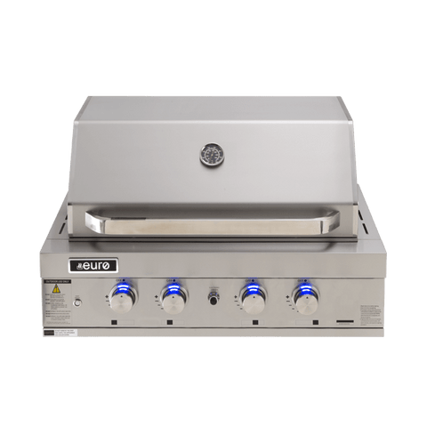PEAL900RBQ – 4 Burner Built-In BBQ + Hood