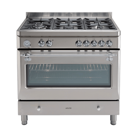 PECSH900SX – 90cm Dual Fuel Royal Chiantishire – Stainless Steel