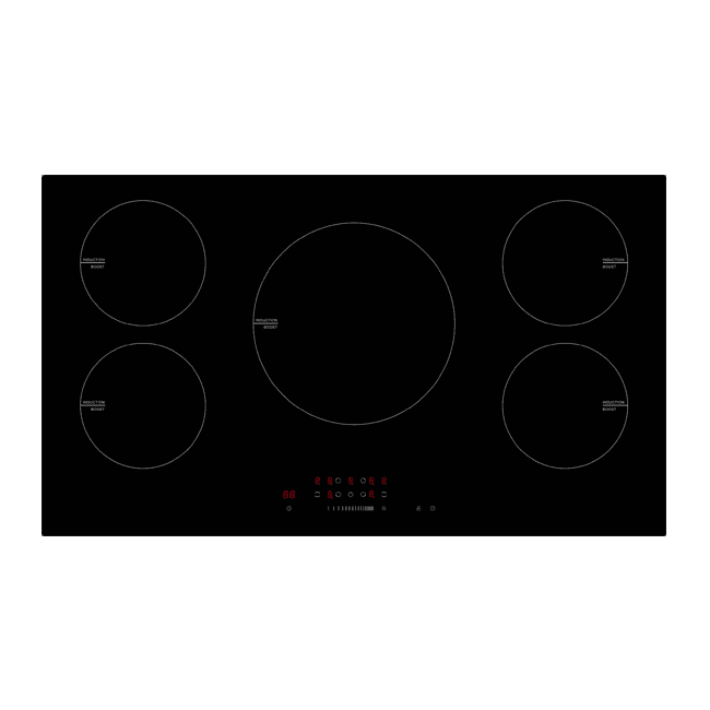 PECT90ICB – Ex Display 90cm Touch Induction Cooktop