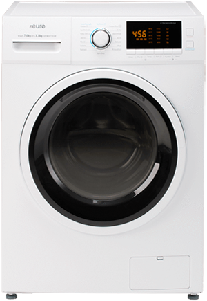 EFWD735W – 7KG / 3.5KG Front Load Washer / Dryer Combo