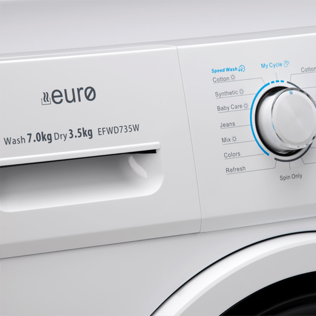 PEFWD735W – 7KG / 3.5KG Front Load Washer / Dryer Combo