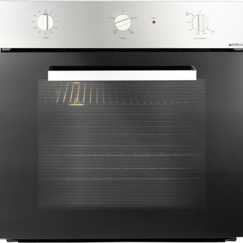 Emilia 60cm Fan Assisted Gas Oven