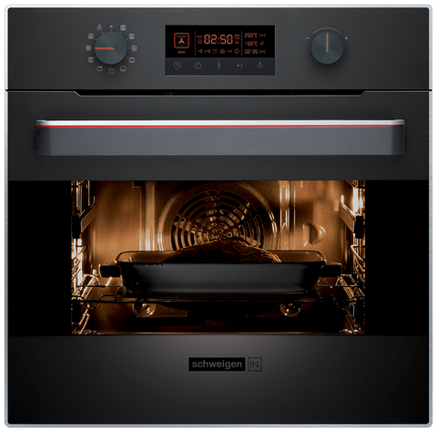 Ex-Display | Schweigen IN. Multifunction Oven with Touch Display and Selector Dials 60cm-IN10EB