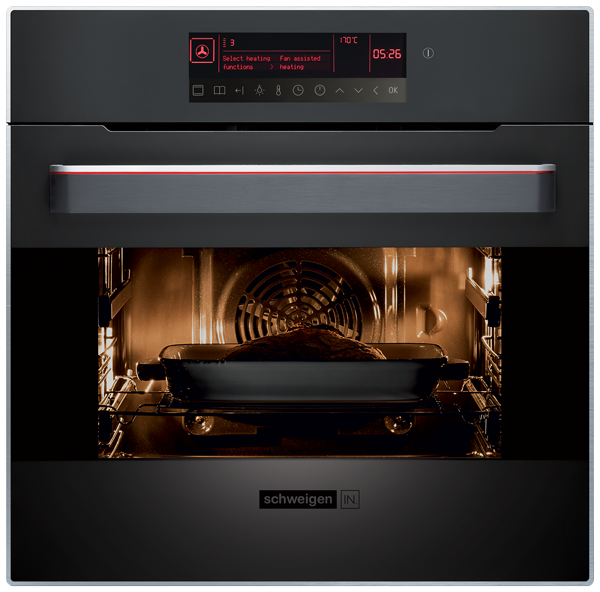 Schweigen Pyrolytic Oven With Touch Sensitive Display 60cm [IN]