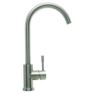Baumatic Stainless Steel Goose Neck Mixer Tap