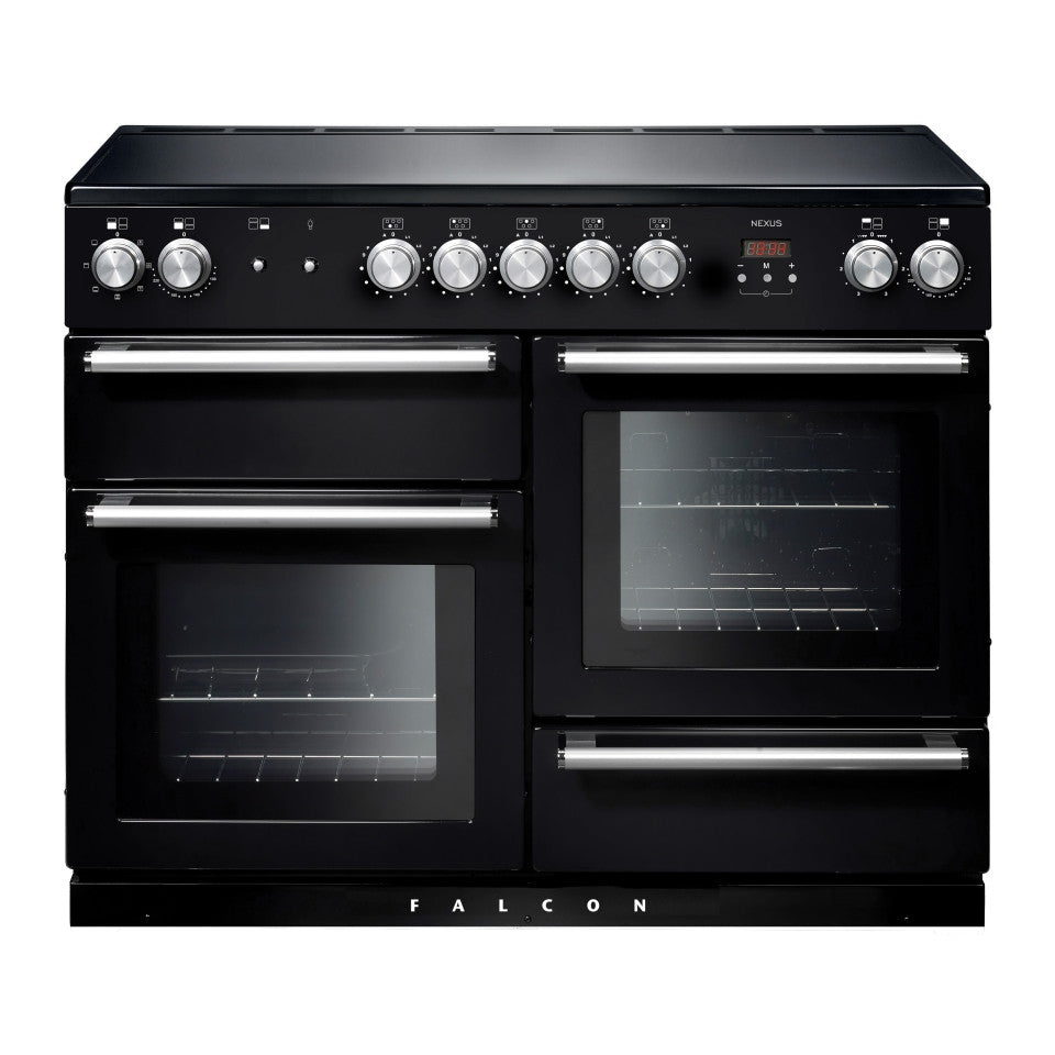 Falcon Nexus Black 110cm Induction Stove-S9-NEX110EIBL/CH