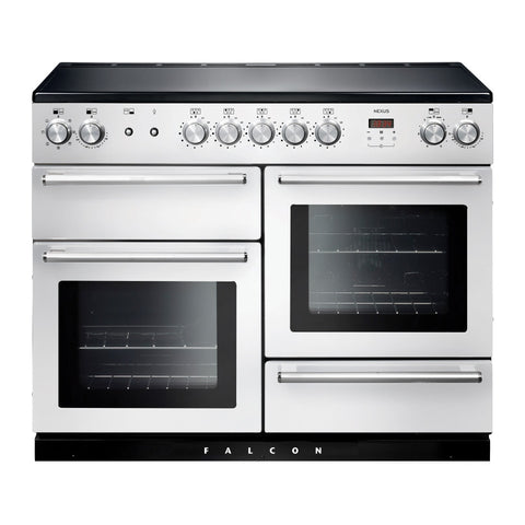 Falcon Nexus White 110cm Induction Stove-S11-NEX110EIWH/CH