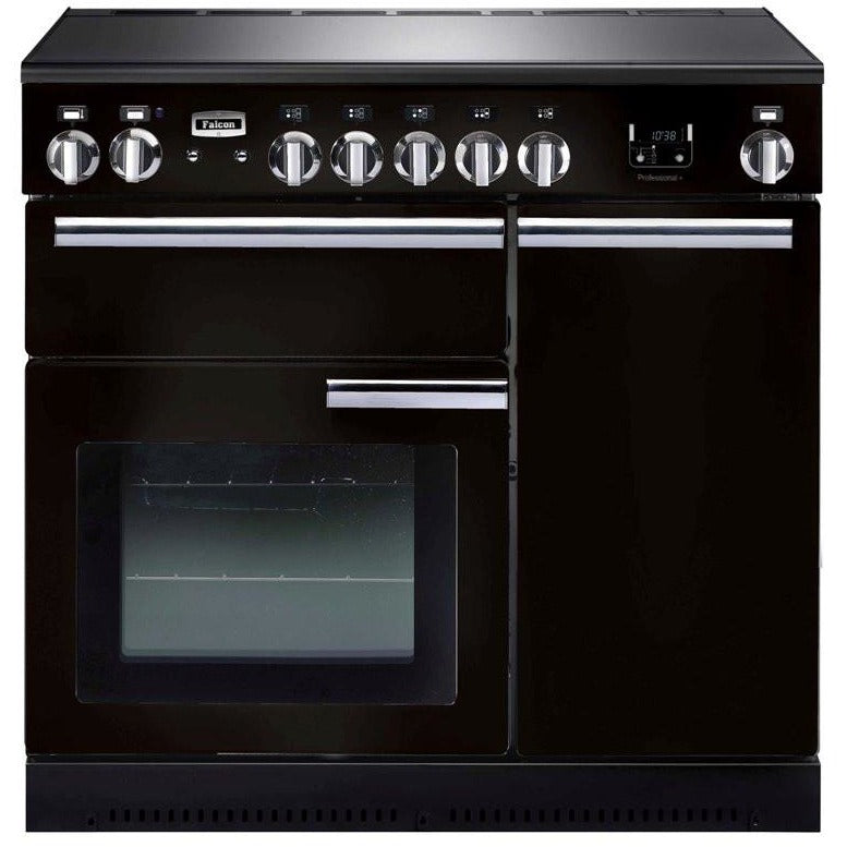 Falcon Professional G-Black 90cm Induction Stove-S9-PROP90EI5GB/CH