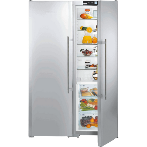 Liebherr Freestanding Side By Side Fridge Freezer-SBSes 7253