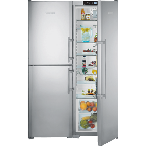Liebherr Freestanding Side By Side Fridge Freezer-SBSes 7353