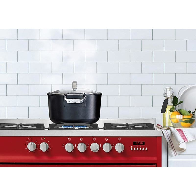 Scandium 90cm Stainless Steel Upright Cooker-SCU900S