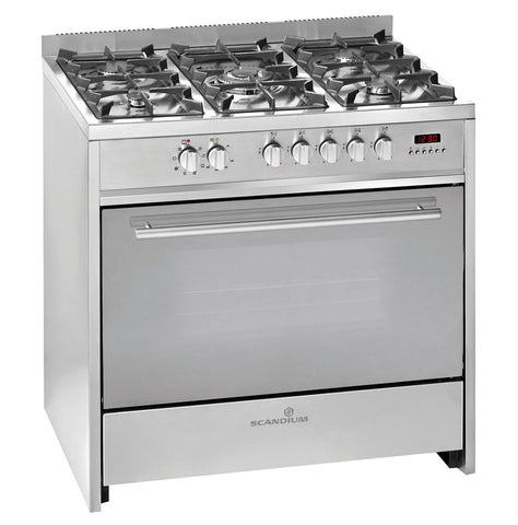 Ex-Display | Scandium 90cm Stainless Steel Upright Cooker-SCU900S