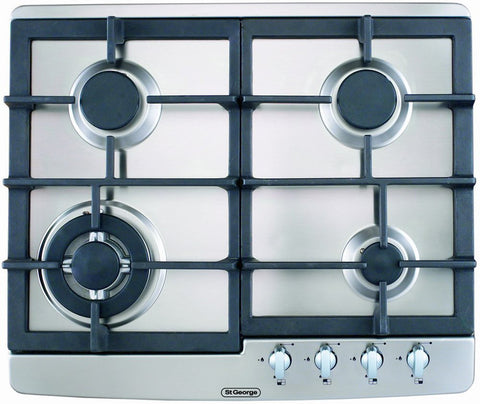 St George Ex-display 60cm 4 Burner Gas Cooktop-5566010