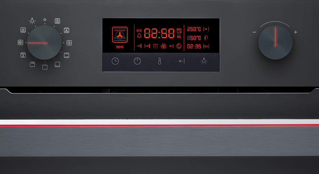 Schweigen Multifunction Oven with Touch Display and Selector Dials 60cm-IN10EB [IN]