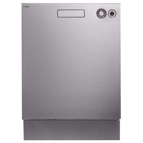 Asko 6 Program Stainless Steel Built-in Dishwasher-D-D5436SS