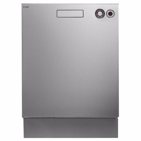 Asko 6 Program Stainless Steel Built-in Dishwasher-D-D5424SSWELS Registration Number: D00901   WELS rating: 4 stars, 13.9L/wash. Energy rating: 3.5 stars, 275 kWh per year.