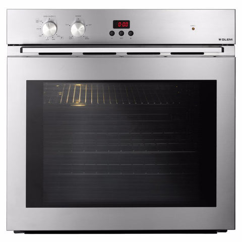 Glem 60cm Fan Assisted Gas Oven-GMF61MVI