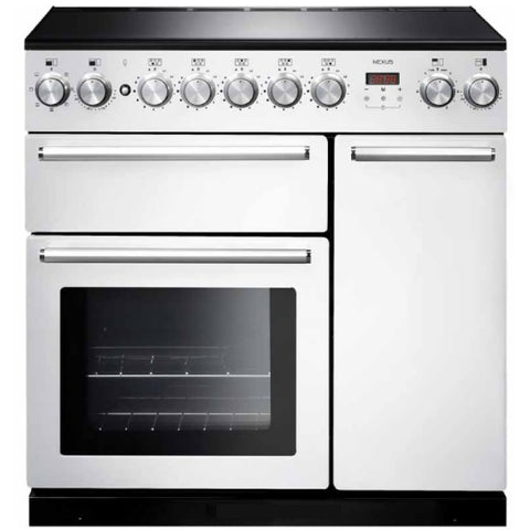 Falcon Nexus White 90cm Induction Stove-S9-NEX90EIWH/CH