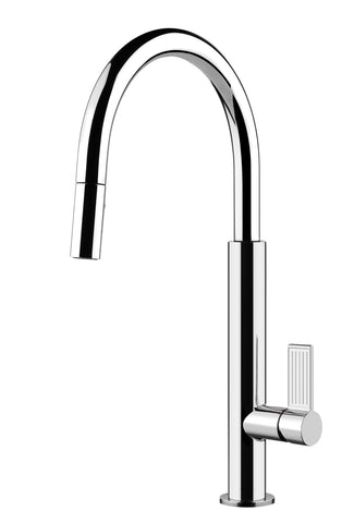 Gessi Chrome Oxygene Pull-out Spray Mixer-37064