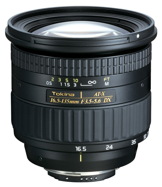 Objectif Tokina AT-X DX 16.5-135mm F3.5-5.6 (Canon)