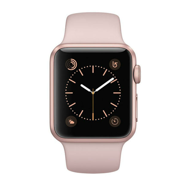 Apple Montre 38mm Boîtier en aluminium Rose Or Bracelet Sport Rose  MNNH2 (Rose)