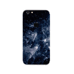Starry Pattern Stickers 5.5 inch for iPhone 6s Plus (Navy Blue)