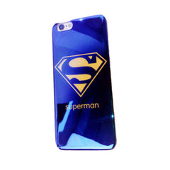 Silicone Shell 5.5 inch for 6 Plus and 6s Plus (Superman)