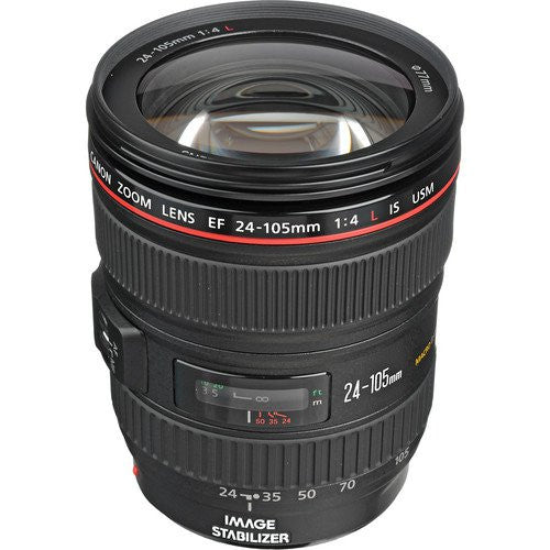 Objectif Canon EF 24-105mm f4.0L IS USM (Boite Blanche)