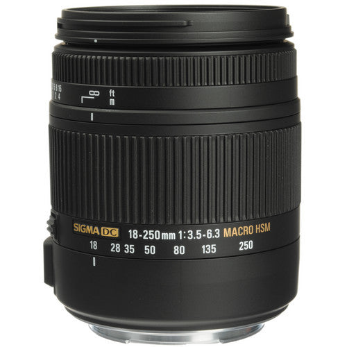 Objectif Sigma 18-250mm F3.5-6.3 DC MACRO OS HSM (Canon)