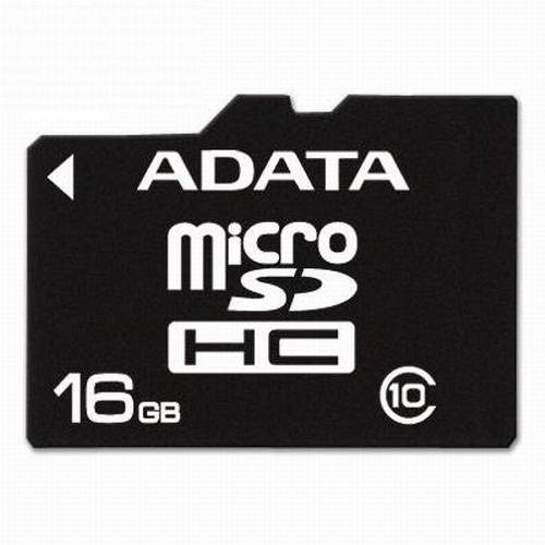 A Data 16GB T-Flash/Micro Carte SD HC (Classe 10)