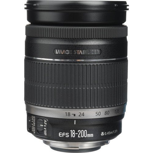 Objectif Canon EF-S 18-200mm f3.5-5.6 IS (Boite Blanche)