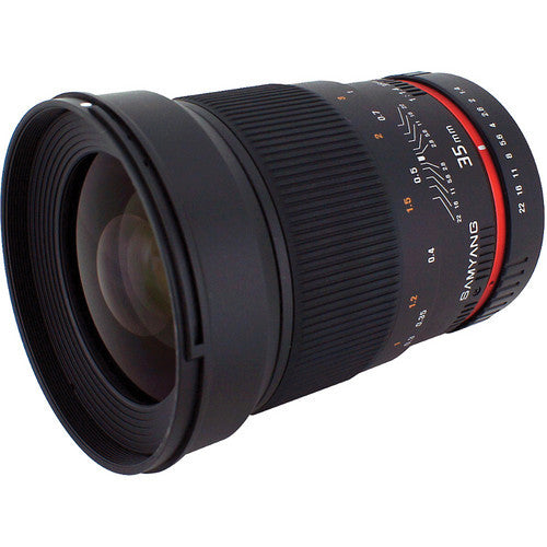 Objectif Samyang 35mm f/1.4 AS UMC (Pan, OM 3/4 Mount)