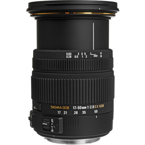 Objectif Sigma 17-50mm F/2.8 EX DC OS HSM (Canon)