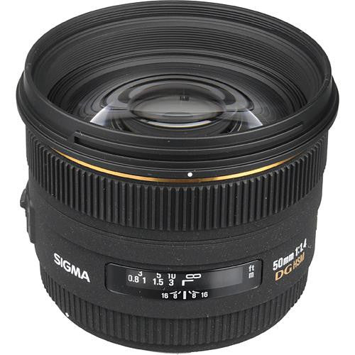 Objectif Sigma 50mm F1.4 EX DG HSM (Canon)
