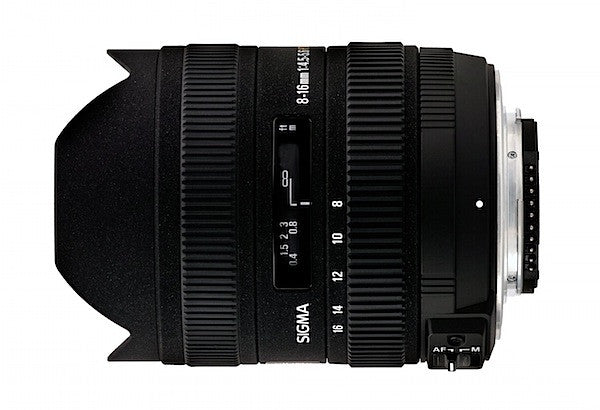 Objectif Sigma 8-16mm F/4.5-5.6 DC HSM (Canon)