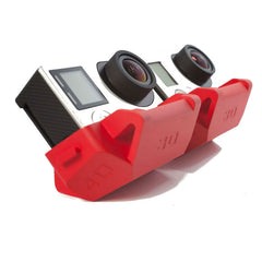 Slopes pour GoPro (Rouge)