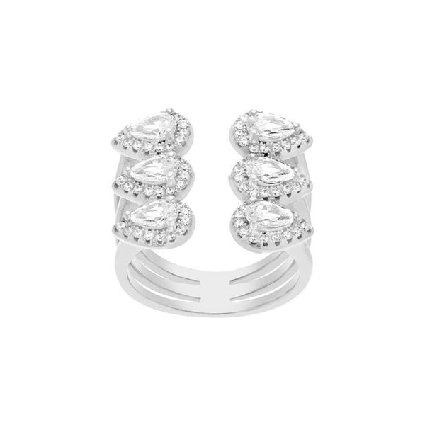 Ada Ring White Gold